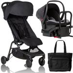 Mountain Buggy NANO2BLACKTRV - Nano 2  Travel Systems - Black