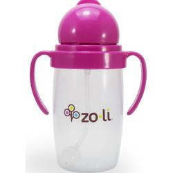 Zoli BOT 2.0 Straw Sippy Cup - PINK