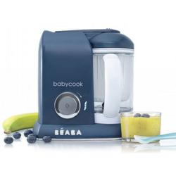 Beaba Babycook 4 in 1 Steam Cooker and Blender - Navy