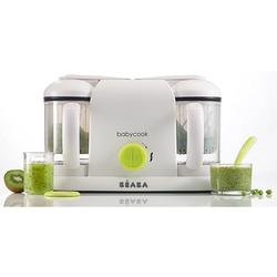 Beaba Babycook Plus 4 in 1 Steam Cooker and Blender - Neon
