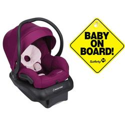 Maxi-Cosi Mico 30 Infant Car Seat - Violet Caspia with Bonus Baby on Board Sign