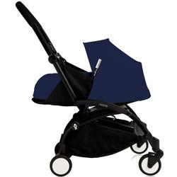 BabyZen - YOYO+ Newborn System  Black Frame - Air France Blue