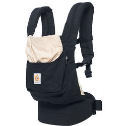 6f2cf275818 Ergo Baby BCANBLKCML Original Baby Carrier - Black and Camel + Free ...
