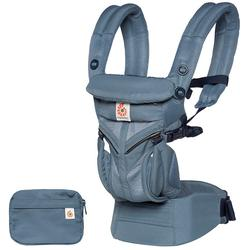 Ergo Baby BCS360POXBLU Omni 360 Cool Air Mesh  Ergonomic Baby Carrier - Oxford Blue