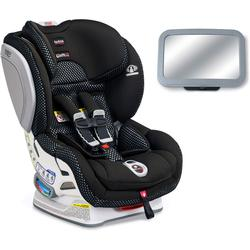 Britax Advocate ClickTight ARB Cool Flow Collection Convertible Car Seat with Back Seat Mirror - Grey