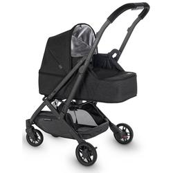 UPPAbaby 0918-MBK-US-JKE Minu From Birth Kit - Jake (Black Melange/Carbon/Black Leather)