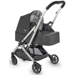 UPPAbaby 0918-MBK-US-JOR Minu From Birth Kit - Jordan (Charcoal Melange/Silver/Leather)