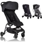 Mountain Buggy - Nano 2 Stroller - Black with All Weather Cover Pack