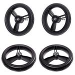 Mountain Buggy Aerotech Wheel Set for Duet Strollers - Black
