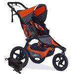 BOB Revolution PRO Jogging Stroller with Handlebar Console and Tire Pump Bundle - Canyon