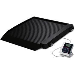 Rice Lake 350-10-7-BT Single Ramp Wheelchair Platform Scale with Bluetooth 1000 lb x 0.2 lb