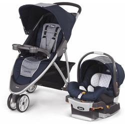 Chicco 04079747790070 Viaro Stroller Travel System - Oxford