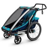 Thule 10202011 Chariot Cross 1 Multisport Trailer - BLUE