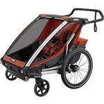 Thule 10202014 Chariot Cross 2 Multisport Trailer - Roarange/Dark Shadow