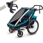 Thule Chariot Cross 1 Multisport Trailer - BLUE with Cup Holder