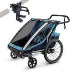 Thule Chariot Cross 2 Multisport Trailer Thule Blue/Poseidon with Cup Holder