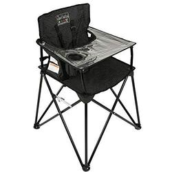 ciao! baby HB2017 - Portable High Chair - Black Check