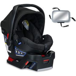 Britax - B-Safe 35 Infant Car Seat with Back Seat Mirror - Raven