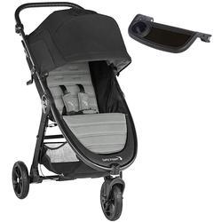 Baby Jogger City Mini Gt2 Single Stroller Jet W Child Tray