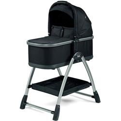 Peg Perego YPSI Bassinet - Onyx with Home Stand