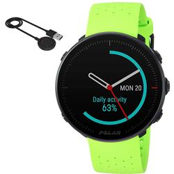 Polar Vantage M Multi Sport GPS Marathon Edition Heart Rate Watch - Green (M/L) with BONUS Charging Cable