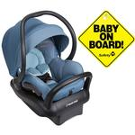 Maxi-Cosi Mico Max 30 Infant Car Seat - Frequency Blue with BONUS Baby on Board Sign