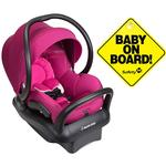 Maxi-Cosi Mico Max 30 Infant Car Seat - Frequency Pink with BONUS Baby on Board Sign
