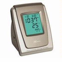 Zewa MFM-007 Automatic Blood Pressure Monitor and Tabletop Alarm Clock