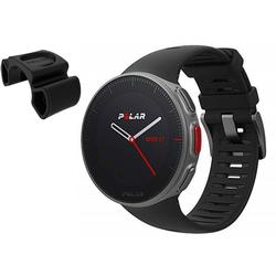 Polar Vantage V Multi Sport GPS Watch with Heart Rate  - Black with BONUS Bike Mount