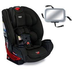 Britax One4Life Clicktight All-in-One Convertible Car Seat - Eclipse Black with Backseat Mirror
