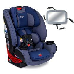 Britax One4Life Clicktight All-in-One Convertible Car Seat - Cadet with Backseat Mirror