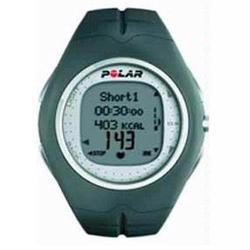 Polar F-11 Heart Rate Monitor, Grey Pepper