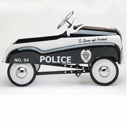 InSTEP 14-PC-200 Police Car Pedal Car