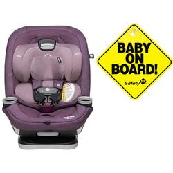 Maxi-Cosi Magellan Max XP Convertible Car Seat - Nomad Purple with Baby on Board Sign
