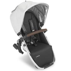 UPPAbaby 0920-RBS-US-BRY VISTA V2 RumbleSeat - Bryce (White Marl/Silver/Chestnut Leather)