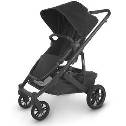 UPPAbaby 0420-CRZ-NA-JKE Cruz V2 Stroller - Jake (Black/Carbon/Black Leather)