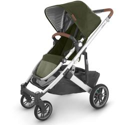 UPPAbaby 0420-CRZ-NA-HZL Cruz V2 Stroller - Hazel (Olive/Silver/Saddle Leather)