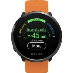 Polar 90081718 Ignite GPS Heart Rate Monitor Watch - Orange/Black (M/L)