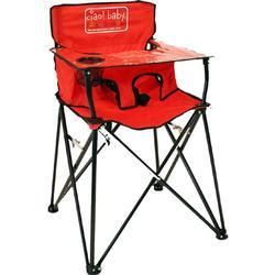 ciao! baby HB2005 - Portable High Chair - Red - Open Box