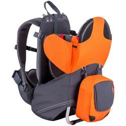 Phil and Teds Parade Lightweight Backpack Carrier - Orange/Grey - Open Box
