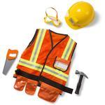 Melissa & Doug 4837 Construction Worker Role Play Costume Set
