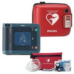 Philips 861304 Heart Start FRX Defibrillator W/ case and Response Kit
