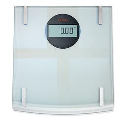 Seca 808 Quadra Digital Floor Scale with Glass Platform and Body Fat & Body Water Analysis , 330 x 0.2 lb
