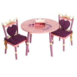 Levels of Discovery LOD20008 Princess Table & 2 Chair Set