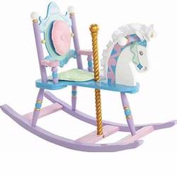 Levels of Discovery RAB20003 Kiddie Up Carosel Rocking Horse