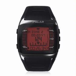 Polar FT60 90032301 Heart Rate Monitor , Male Black with Red Display