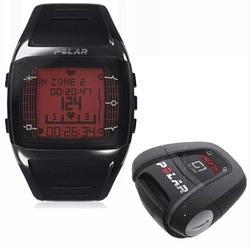 Polar FT60 90035740 with G1 GPS Heart Rate Monitor , Male Black with Red Display
