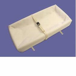 Naturepedic CH42 Organic Cotton Flat 4-Sided Contoured Changing Pad