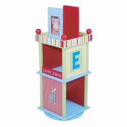 Levels of Discovery LOD70007 Alphabet Soup Revolving Bookcase