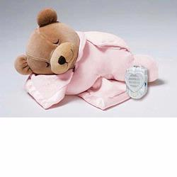 Prince Lionheart  0015s Pink Slumber Bear With Silkie